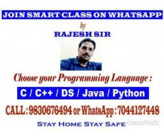 Online Computer Programming Class on Python, C, C++, Java